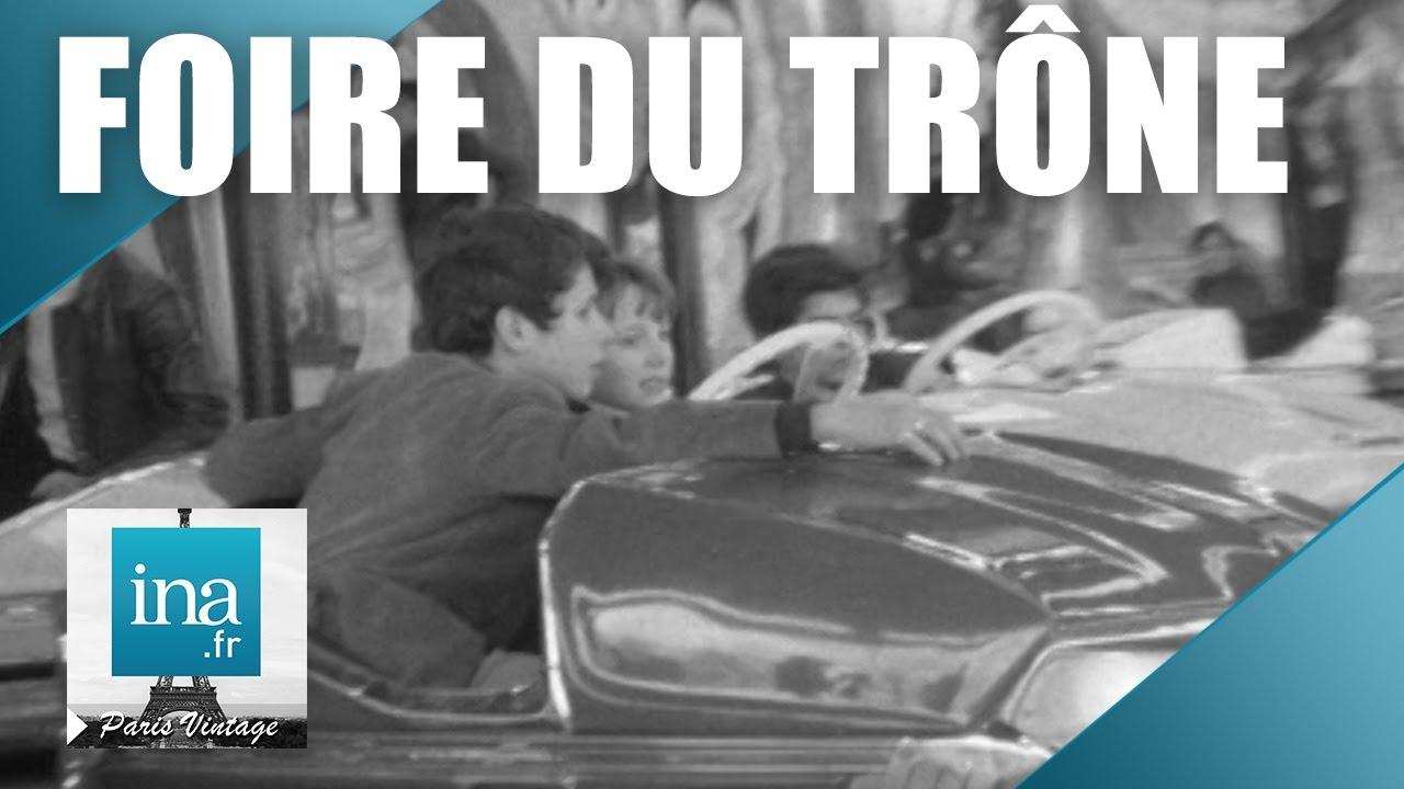 Une journ e la foire du tr ne en 1970 archive ina for Foire du trone en transport