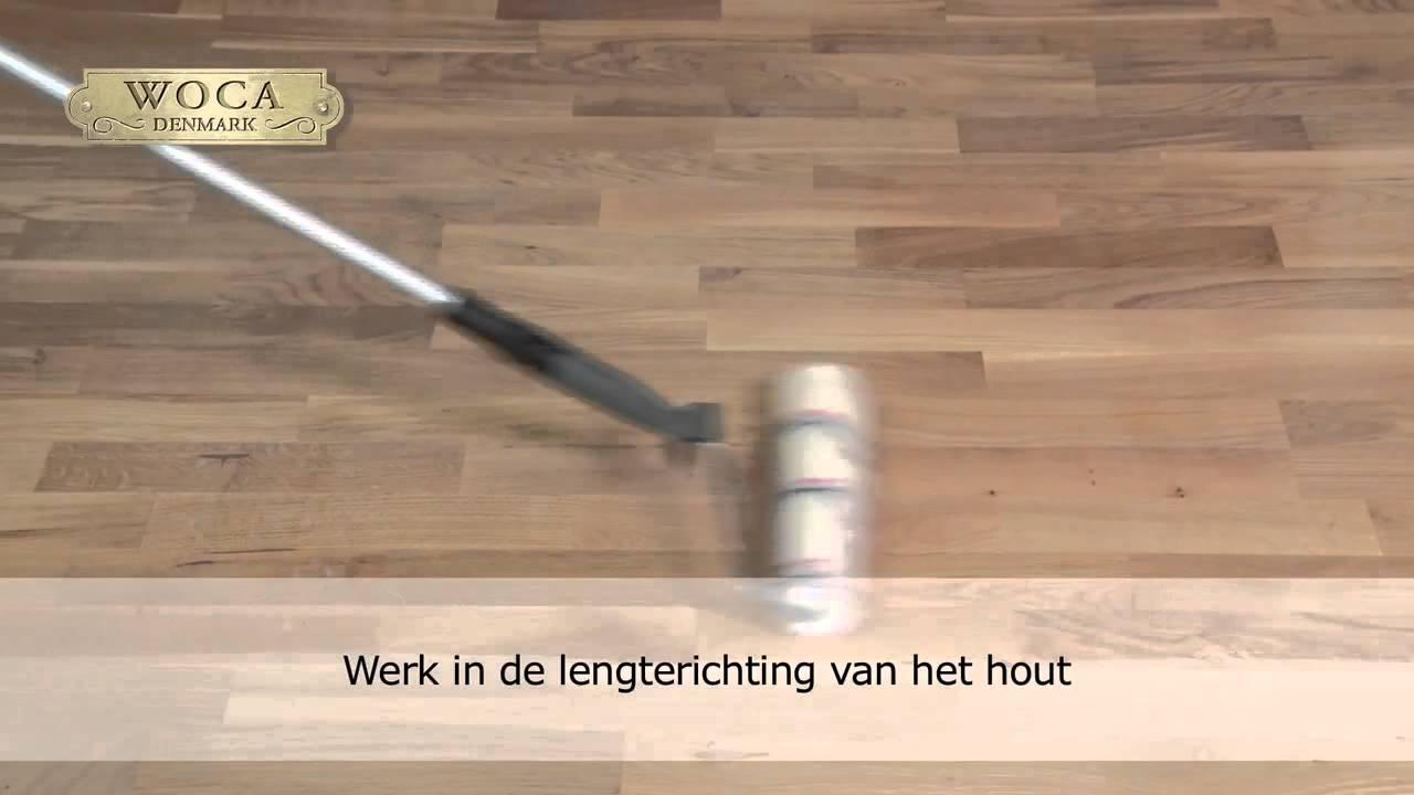 Houten Vloeren Breda : Instructies woca lak alma parket houten vloeren breda youtube