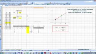 Интерполяция в Excel. Часть 4. ФУНКЦИЯ на VBA СВОИМИ РУКАМИ! СКАЧАТЬ!