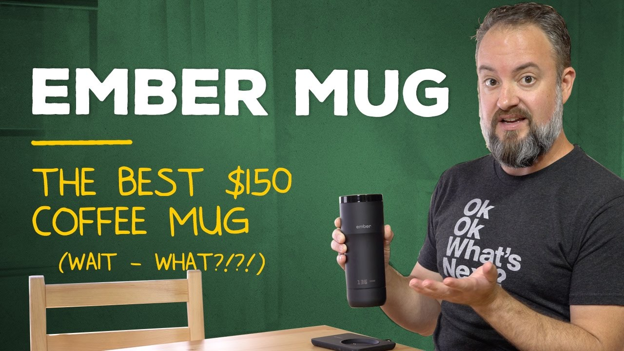 Ember Mug — $150 of crazy coffee AWESOMENESS