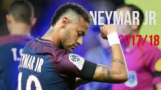 Neymar 2018 - Những pha đi bóng và kỹ thuật qua người | Magic Dribbling Skills 2017/18 |HD