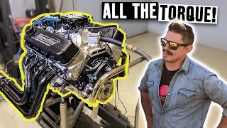 Zac's 9.3l Big Block Torque Monster V8 Hits the Engine Dyno!