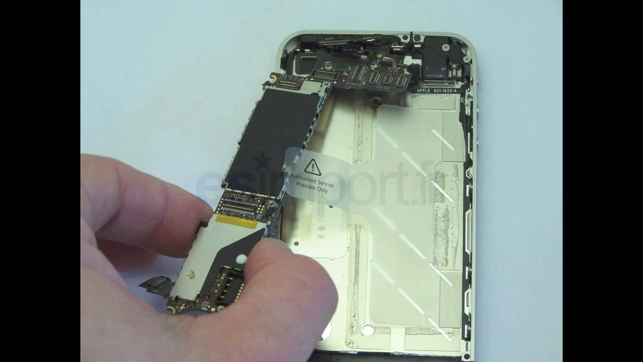 carte mere iphone 4 tuto changement carte mere iphone 4   YouTube