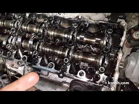 Фото к видео: Демонтаж форсунок и форсуночных гильз на Opel Combo C 1.7d, Z17DTH