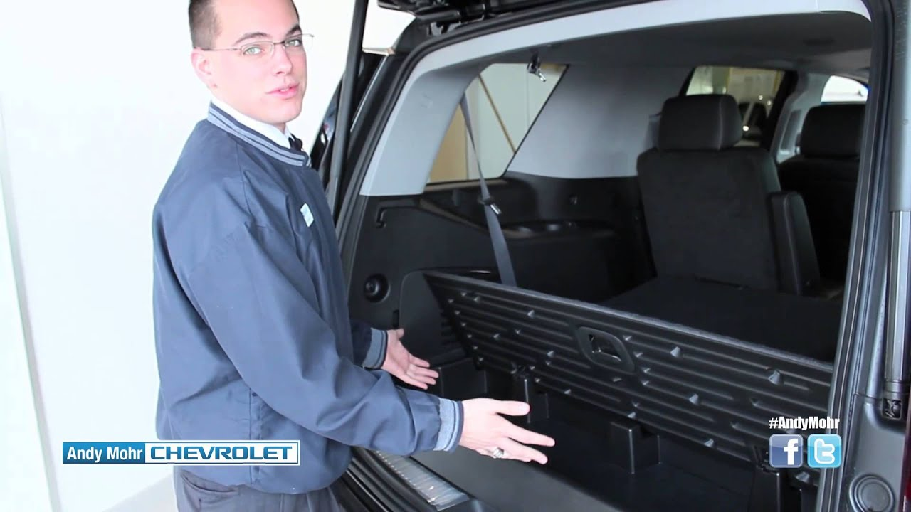 2015 chevy tahoe seating and storage andy mohr chevrolet indianapolis in youtube. Black Bedroom Furniture Sets. Home Design Ideas