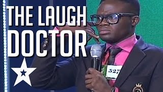 The Laugh Doctor Has The Judges In Stitches | Global Got Talent