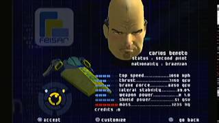 Wipeout Fusion - PlayStation PS2 - Expert Pilot - Part 1