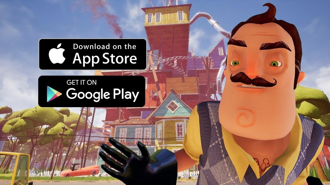 Hello Neighbor Launch Trailer Ios Android Youtube