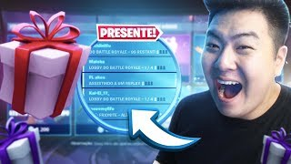 I GAVE A GIFT SKINS TO MY FRIENDS!! * Surprise! * | FORTNITE
