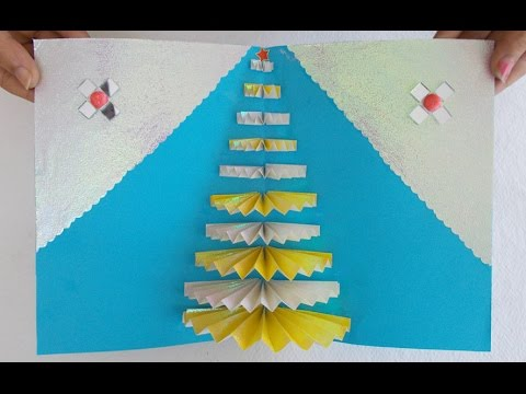 Handmade Greeting Card How To Make An Easy Pop Up Greeting Card