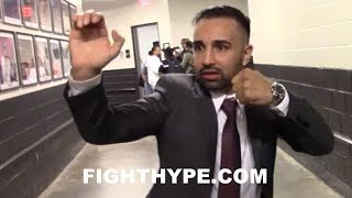 MALIGNAGGI IMITATES MCGREGOR'S BOXING SKILLS; EXPLAINS