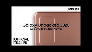 Galaxy Unpacked Agosto 2020: Trailer Oficial #2   Samsung