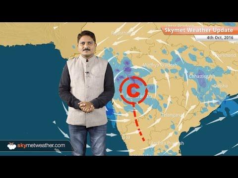Weather Forecast for Oct 4: Good rains in Maharashtra, Gujarat; light rain in Bihar