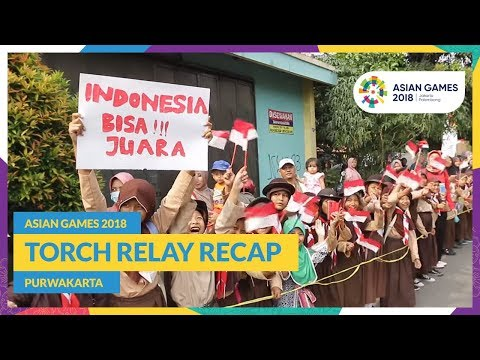 Asian Games 2018 - Torch Relay Recap (Purwakarta)