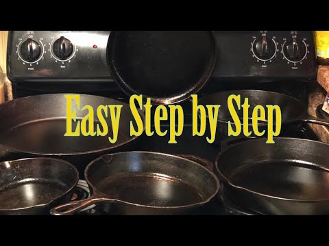 How to Clean and Store Cast Iron Pans