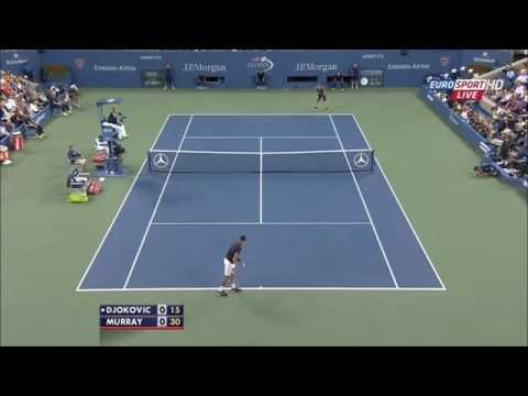 Novak Djokovic Vs Andy Murray Us Open 2014  Quarter Final.