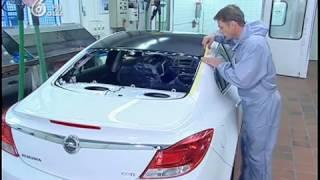 видео Ремонт крыши автомобиля. Выравнивание