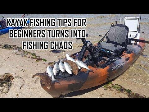 Kayak Fishing Tips For Beginners Turns Into Salmon Chaos | Kayak Fishing Australia