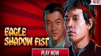 Eagle Shadow Fist Online Slot from RTG with Free Spins Bonus and Progressive Jackpot