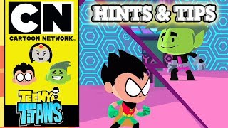 Teen Titans Go! | Teeny Titans Hints & Tips | Cartoon Network UK