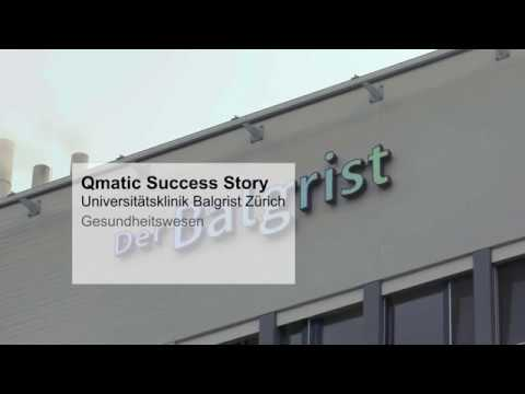 Qmatic Success Story - University Clinic Balgrist, Zürich - German subtitles