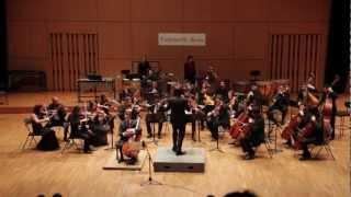 Symphonie Concertante pour violoncelle, percussions & orchestre de Jonathan Grimbert-Barré