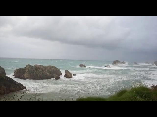 Las consecuencias del viento en Santander