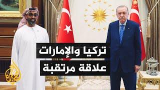 الرئيس التركي رجب طيب أردوغان يستقبل مستشار الأمن القومي الإماراتي