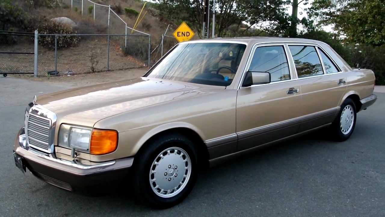 W126 Mercedes Benz 420sel 1 Owner 44 000 Original Miles 420 Mint Sel You
