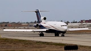USA Jet Airlines 727-223 Taxi / Takeoff - KLGB