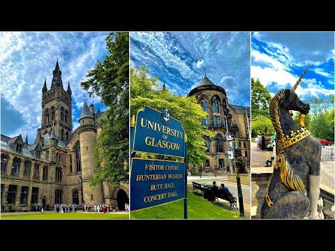 University of Glasgow CAMPUS TOUR   We're studying at HOGWARTS!   Full Campus Tour 2021