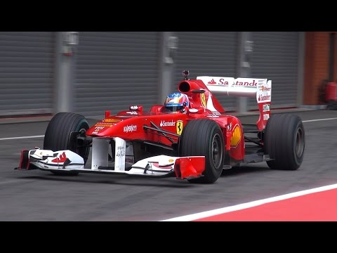 Ferrari F150 Formula 1 EPIC V8 SOUNDS!!