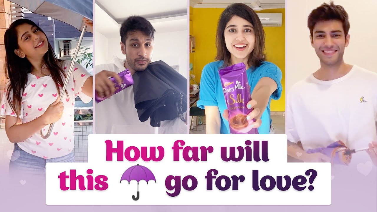 Cadbury Silk - How far will this ☂️ go for love?