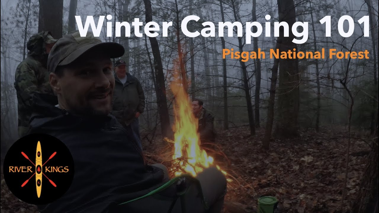Winter Camping 101 - Pisgah National Forest - YouTube