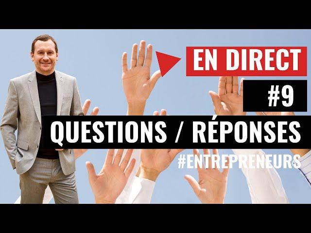 [ Live Questions/Réponses ] #9 Expert-Comptable - Cabinet FICO - Grégory PROUVOST