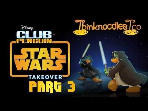 Club Penguin: Star Wars Takeover Party Walkthrough Part 3