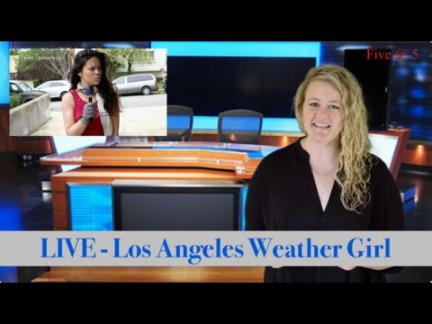 Southern California Weather Girl