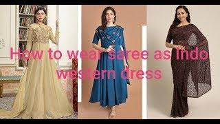 Western dress wearing video / …
