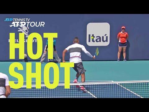 Hot Shot: Kyrgios Hits Shot Of The Tournament In Miami 2019