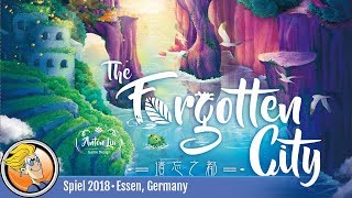 The Forgotten City — game overview at SPIEL '18