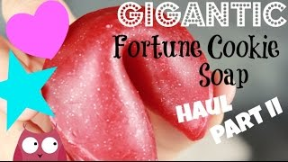 Fortune Cookie Soap Gigantic Haul Part Ii!