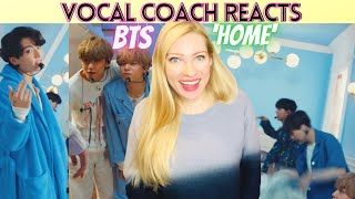 Vocal Coach/Musician Reacts: BTS 'HOME' Live on Jimmy Fallon