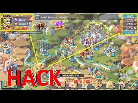 Lords Mobile Hack 2019   Lords Mobile Free