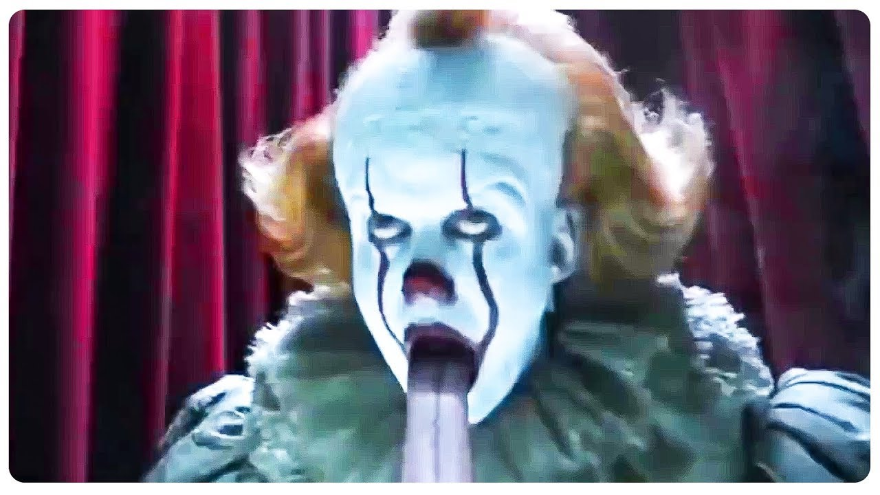 Pennywise Carnival Fun House Scene It Chapter 2 2019 Movie