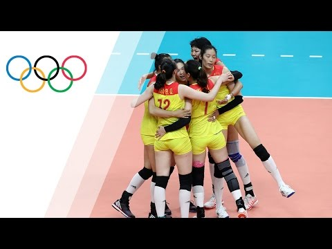 China defeat Serbia to win Women's Volleyball gold | Rio 2016 Olympic Games
