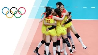 China defeat Serbia to win Women