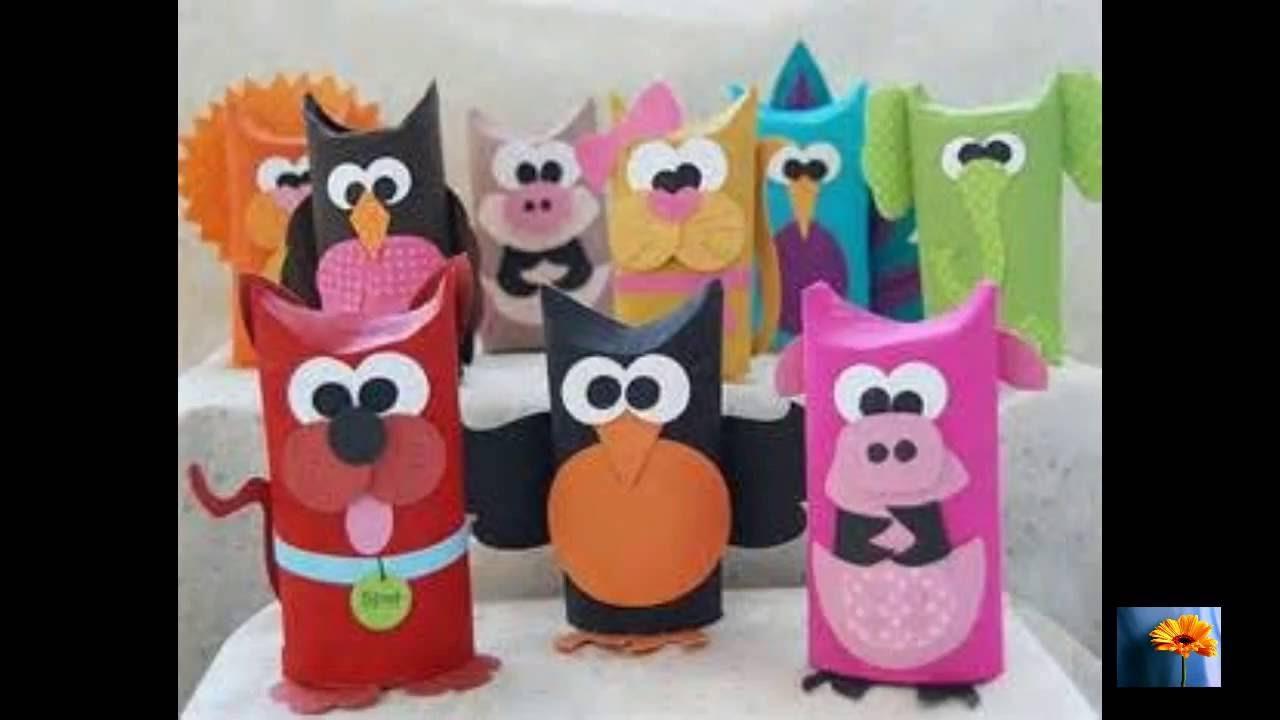 Manualidades de animalitos con rollos de papel higienico - Manualidades en papel ...