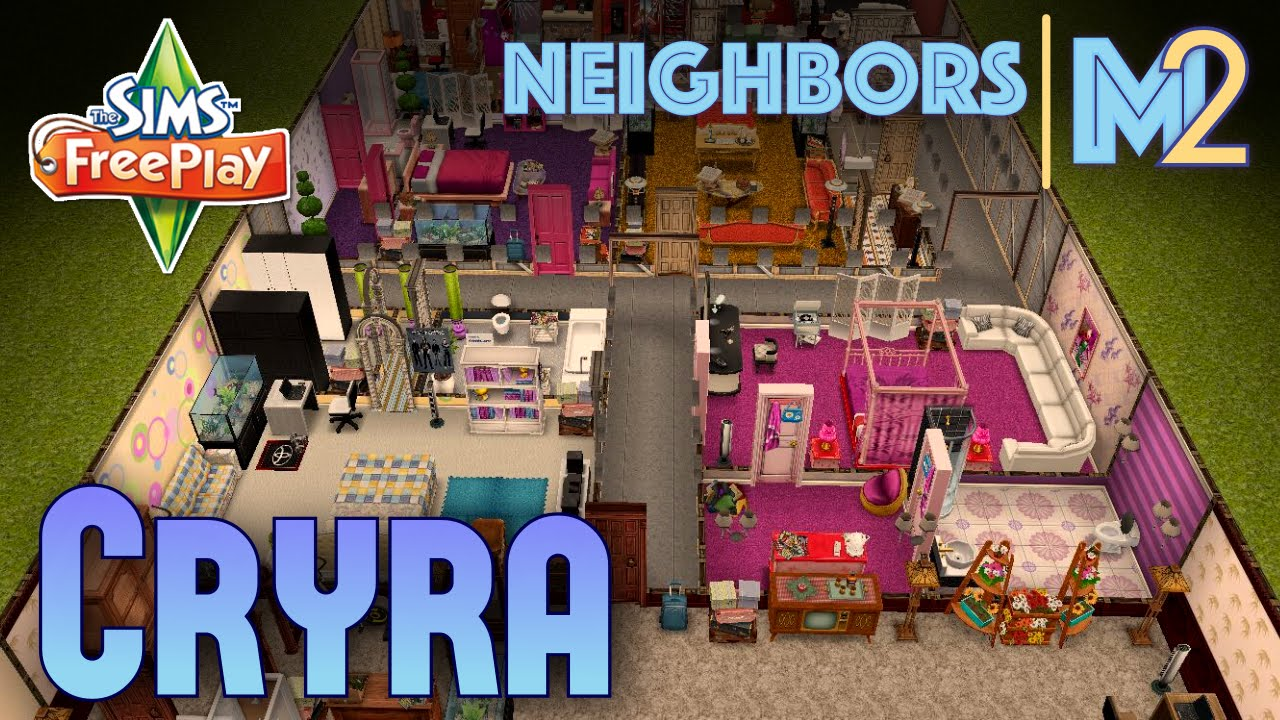 Sims Freeplay Cryra S Basement Pll House Neighbor Original Design You