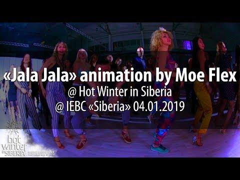 «Jala Jala» Animation By Moe Flex @ Hot Winter In Siberia 04.01.2019