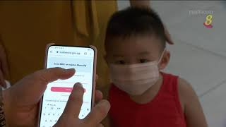 【冠状病毒19】可替幼儿扫描注册SafeEntry 或扫儿童学生卡登记